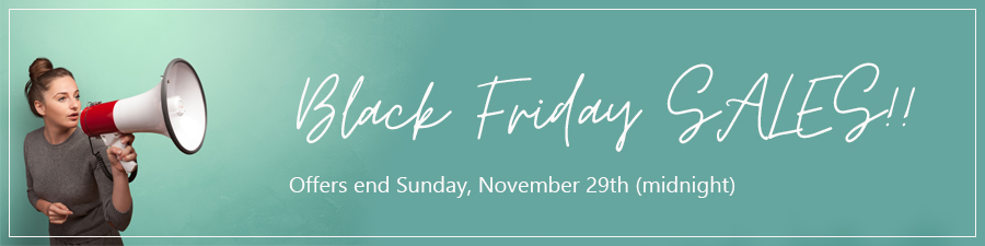 Black Friday Promo 2020 - Home Page Banner - HEADING